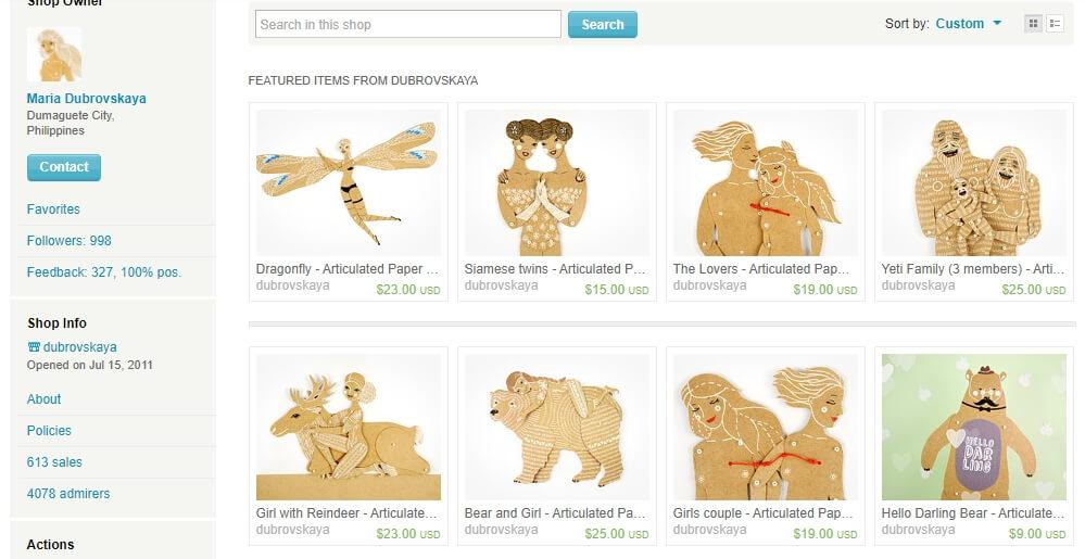 Бумажные куклы - скриншот взят из архива Google