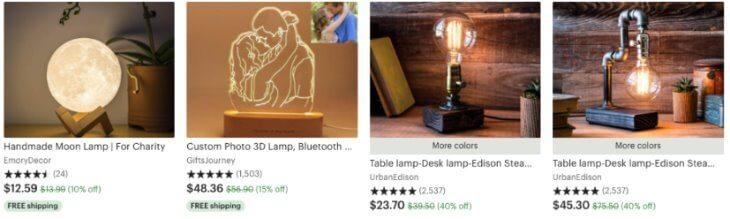Универсальные результаты по запросу lamp