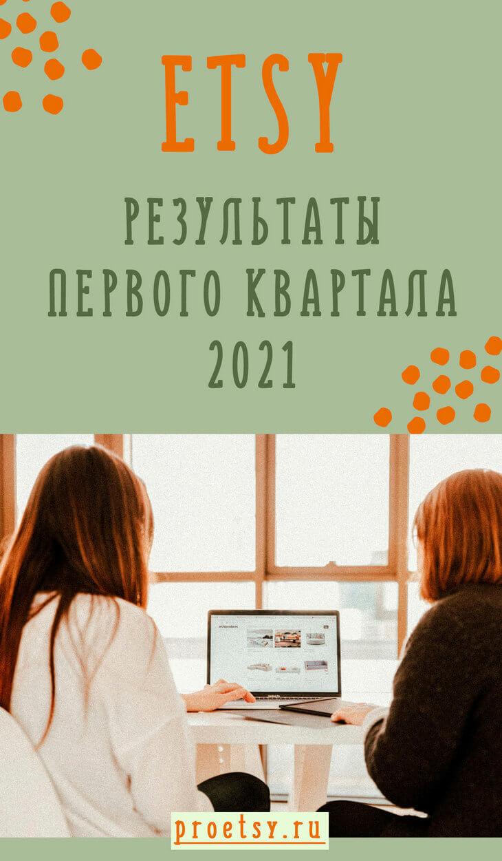 Etsy финансовые результаты первого квартала 2021 года